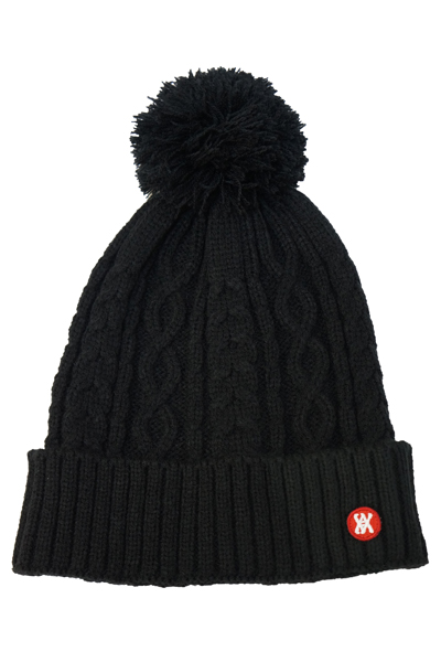 ANIMALIA AN16A-CP05 BEANIE#008 BLACK