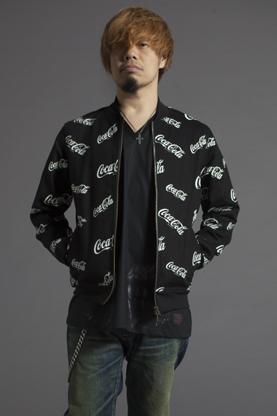 Zephyren(ゼファレン) RIB JKT -CocaCola- BLACK
