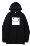 SILLENT FROM ME ILLNESS -Pullover- BLACK