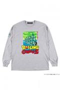 ROLLING CRADLE RCxDRAGON BALL Z LONG SLEEVE SHIRT / Gray