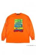 ROLLING CRADLE RCxDRAGON BALL Z LONG SLEEVE SHIRT / Orange