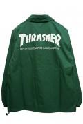 THRASHER TH8901C MAG LOGO COACH JKT GRN