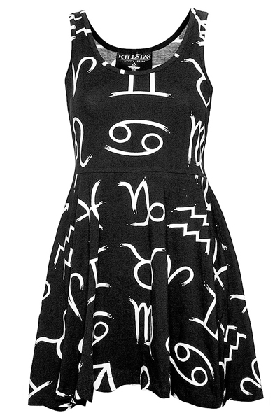 KILL STAR CLOTHING(キルスター・クロージング) ZODIAC SKATER DRESS