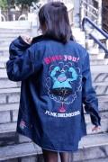 PUNK DRUNKERS【PDSxタツノコプロ】ハクション大魔王デニムシャツ INDIGO