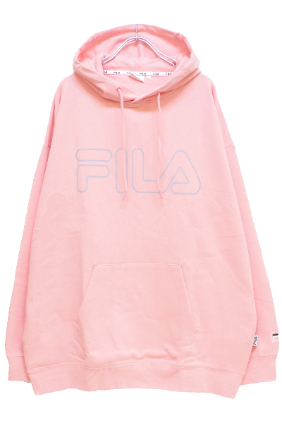 FILA FM9510 PULLOVER HOODIE PINK