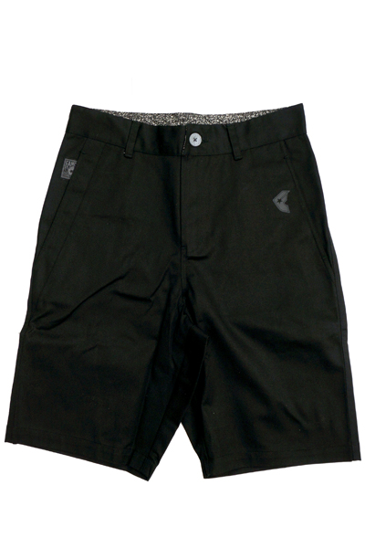 FAMOUS STARS AND STRAPS ALLIANCE CHINO SHORT BLACK