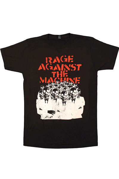 RAGE AGAINST THE MACHINE SKELETON HEADS