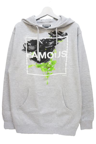 FAMOUS STARS AND STRAPS (フェイマス・スターズ・アンド・ストラップス) LIFE AND DEATH PULLOVER HOODY