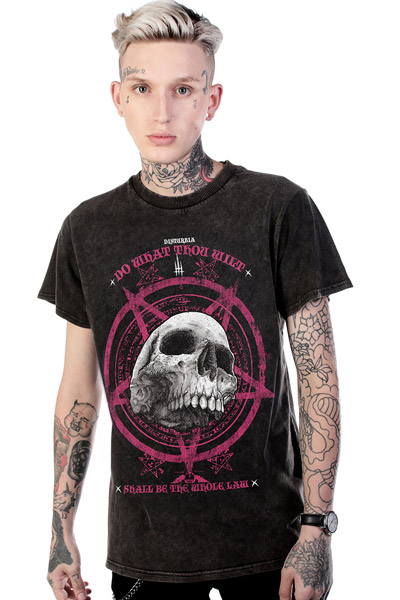DISTURBIA CLOTHING Law T-Shirt