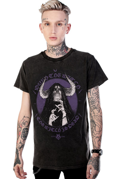 DISTURBIA CLOTHING Witch T-Shirt