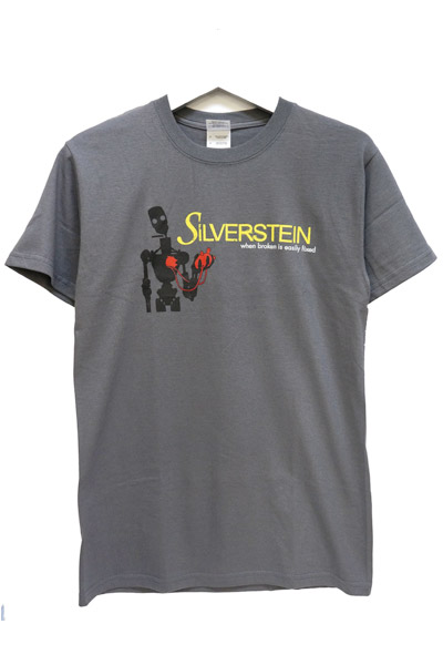 SILVERSTEIN ROBOT TEE Charcoal