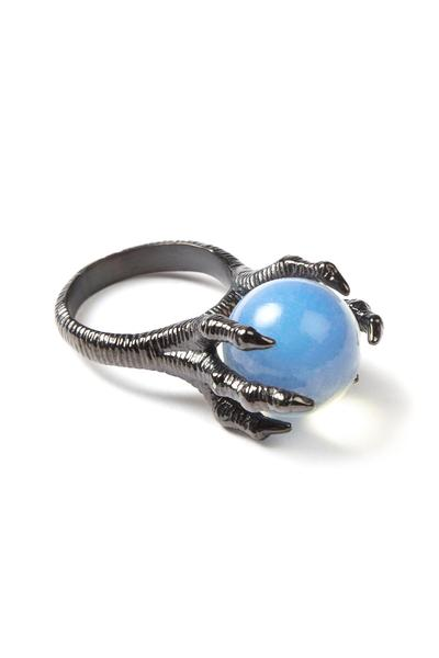 KILL STAR CLOTHING (キルスター・クロージング) Dragon Claw Opalite Ring [B]