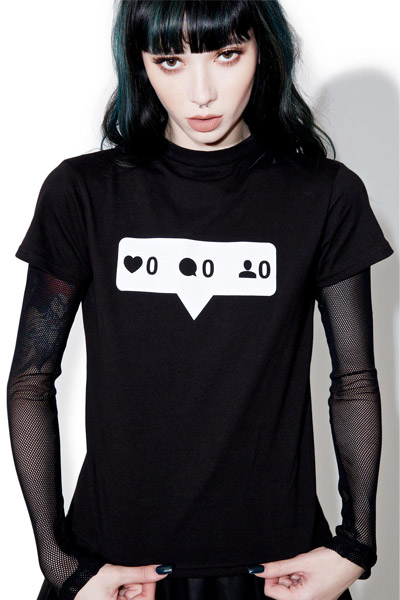 DISTURBIA CLOTHING Zero Top