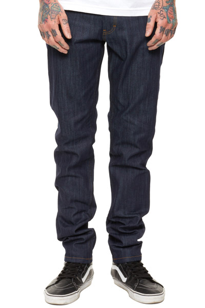 REBEL8 SLIM CUT DENIM PANTS