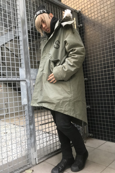 Subciety (サブサエティ) MODS COAT OLIVE-DRAB