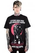 KILL STAR CLOTHING Handshake T-Shirt