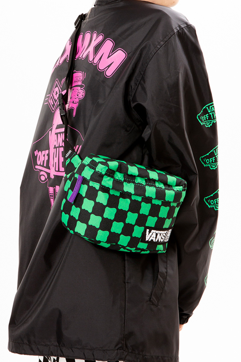 "MAGICAL MOSH MISFITS VANS x MxMxM ""DORO CHECKER"" BODY BAG"