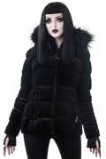 KILL STAR CLOTHING Lisa Luna Padded Velvet Jacket