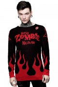 ROB ZOMBIE×KILL STAR CLOTHING Six Feet Under Knit Sweater