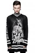 ROB ZOMBIE×KILL STAR CLOTHING Living Dead Girl Hockey Jersey