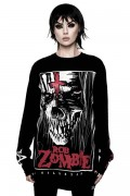 ROB ZOMBIE×KILL STAR CLOTHING The End Long Sleeve Top [B]