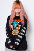 "MAGICAL MOSH MISFITS x SONIC THE HEDGEHOG""MAGICAL SONIC MISFITS"" LONG TEE RED"