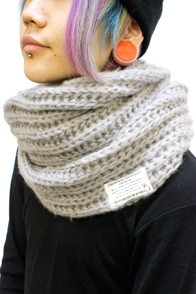 VIRGO VG-GD-569 FAT V SNOOD GRAY