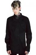 KILL STAR CLOTHING Lestat Ruffle Shirt