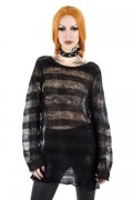 KILL STAR CLOTHING Spook N Destroy Knit Sweater [B]