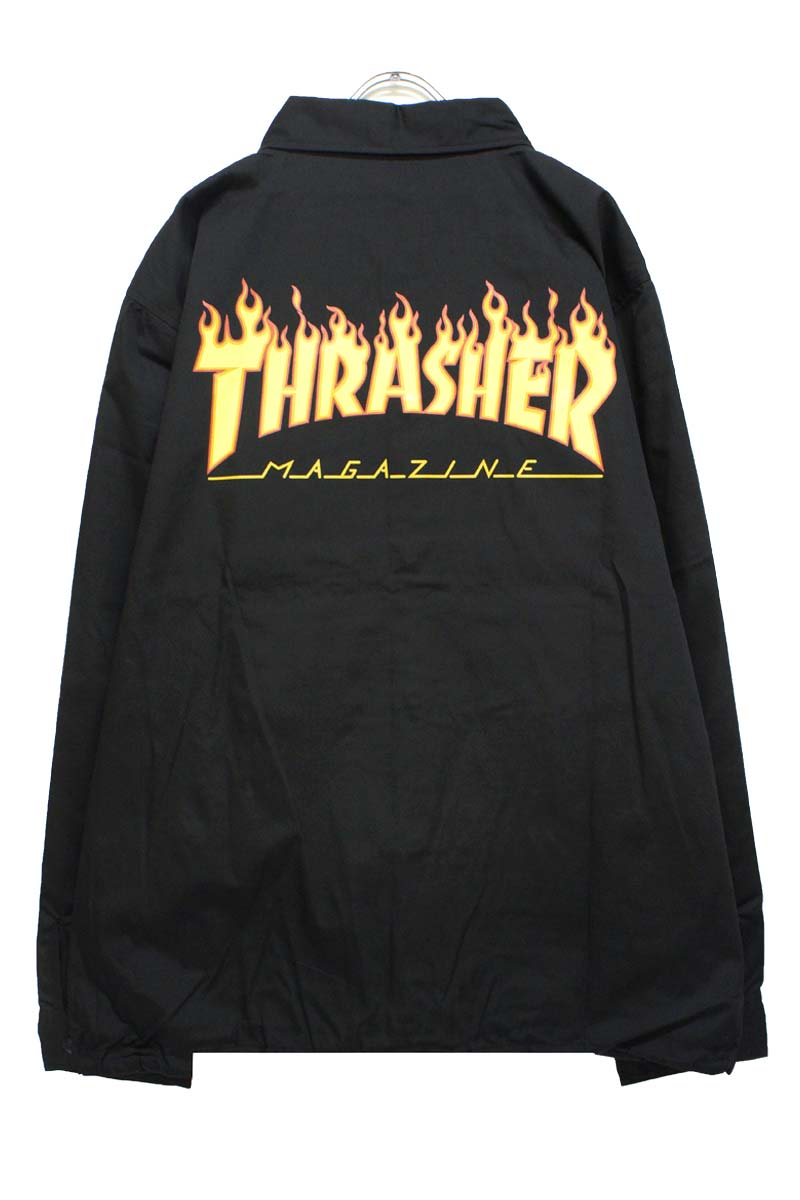 THRASHER TH59130 GOAT FLAME T/C COACH JACKET