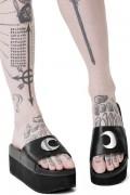 KILL STAR CLOTHING Dark Moon Slides [B]