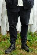 【予約商品】VIRGO Relaxed uniform jogger pants BLACK