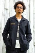 【予約商品】VIRGO  Relaxed uniform shirts BLACK