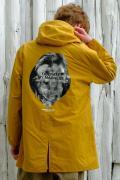【予約商品】VIRGO  Big neck sell hoodie YELLOW