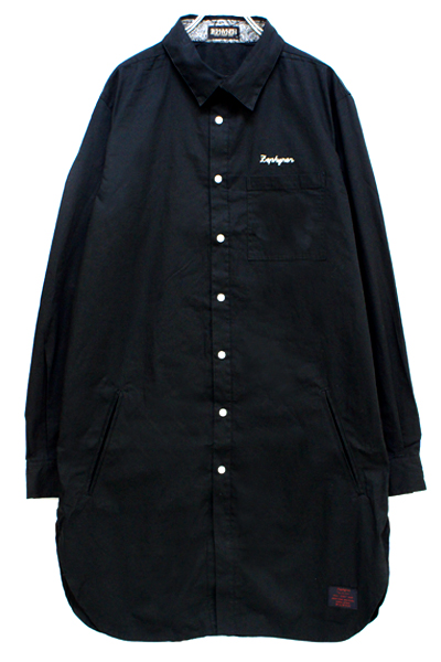 Zephyren(ゼファレン) LONG SHIRT L/S -Resolve- BLACK
