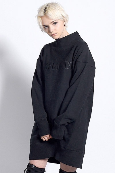 PARADOX - HIGH NECK SWEAT (BLACK)
