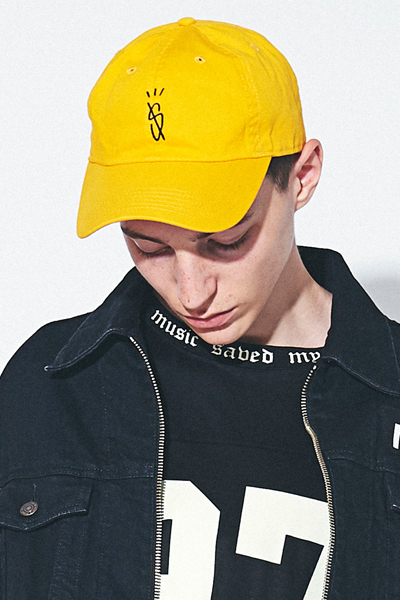 MUSIC SAVED MY LIFE (MSML) M1H5T-CP01 DAD CAP YELLOW