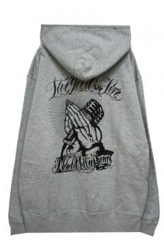 NineMicrophones PARKA-Pray with the microphones- GRAY