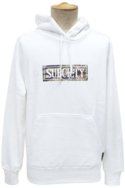 Subciety PARKA-CAMOUFLAGE SALOON- WHITE