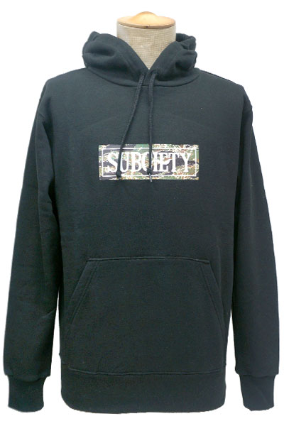 Subciety PARKA-CAMOUFLAGE SALOON- BLACK