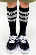 MAGICAL MOSH MISFITS MxMxM どろどろ HIGHSOX BLACK