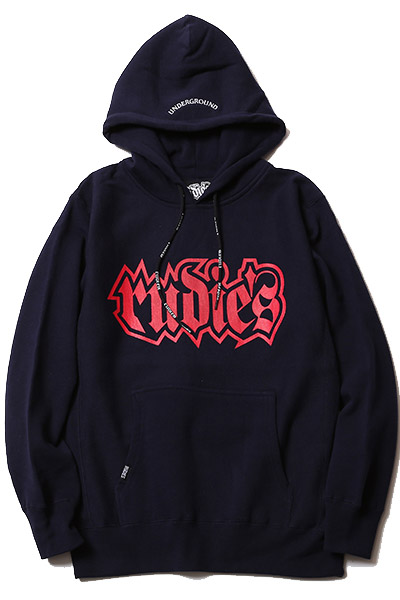 RUDIE'S SPARK HOOD SWEAT NAVY