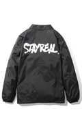 NineMicrophones COACH JACKET-STAY REAL- BLACK