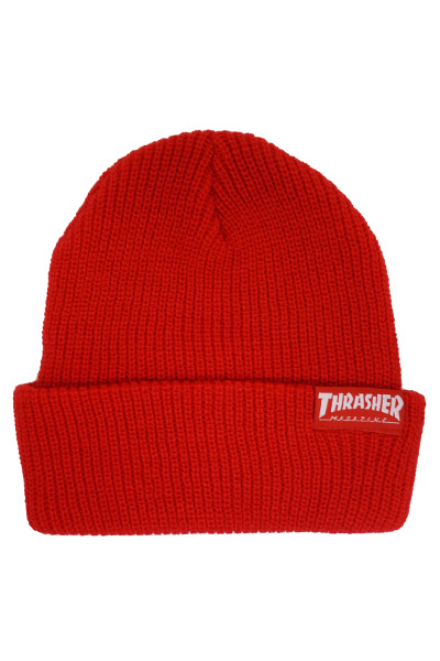 THRASHER SKATEGOAT ZOOM BEANIE RED