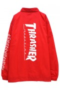 THRASHER THKH-NCJ19 Keith Haring COACH JACKET RED