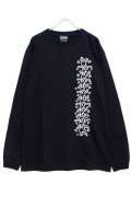 THRASHER THKH-LT19 Keith Haring L/S TEE BLACK