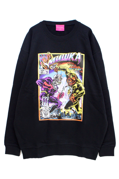 MISHKA(ミシカ) EXWD1005C MISHKA VS LAMOUR SWEAT BLACK