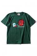 PUNK DRUNKERS [PDSxDIGDUG]ディグダグTEE IVY.GREEN