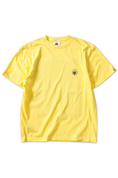 PUNK DRUNKERS 目線ピエロTEE YELLOW