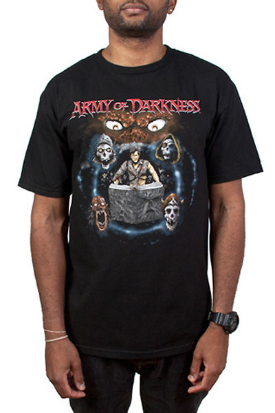 MISHKA (ミシカ) AOD NECRONOMICON T-SHIRT BLACK